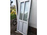 UPVC door 2.1m x 900mm