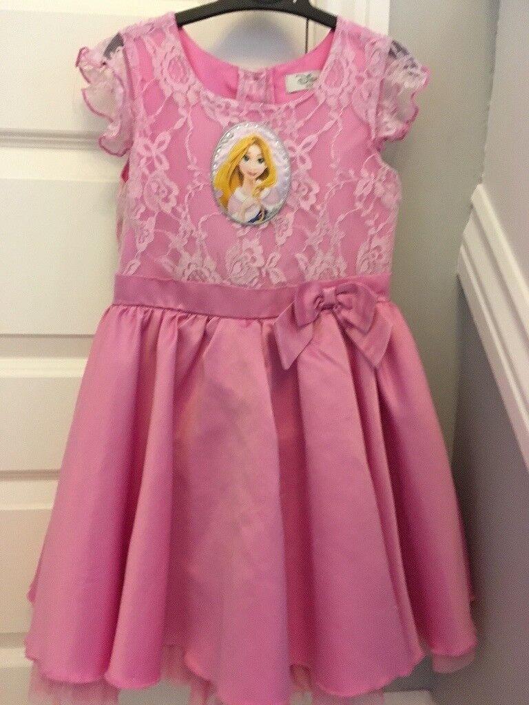 Disney Store Rapunzel Party Dress, age 4-5,