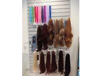 Wigs extensions clip-ins various styles and colours