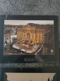 Set of 4 Rome pictures .. NEW