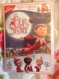 Elf on the shelf DVD new