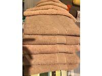 Matalan bath towels + hand towels
