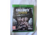 Xbox one call of duty world war 2