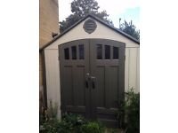 8ft by 6.5ft COSCO GARDEN SHED FOR SALE