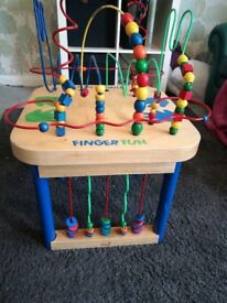 activity table toy xmas present