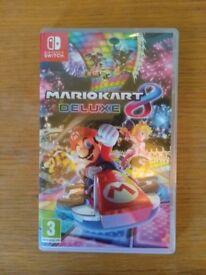 MarioKart 8 Deluxe Nintendo Switch version