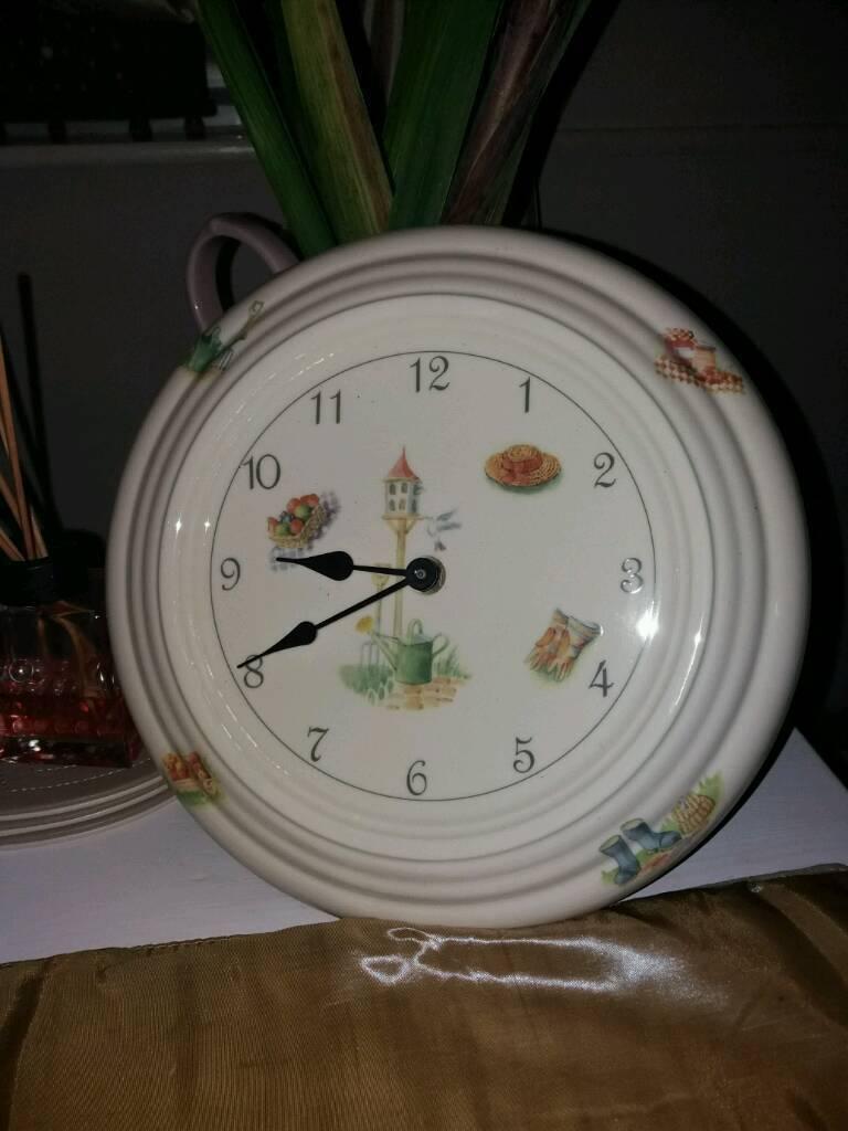 Aynsley China wall clock