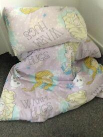 Toddler Frozen duvet cover, sheet, mattress cover and duvet