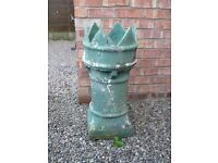 VICTORIAN CROWN CHIMNEY POT