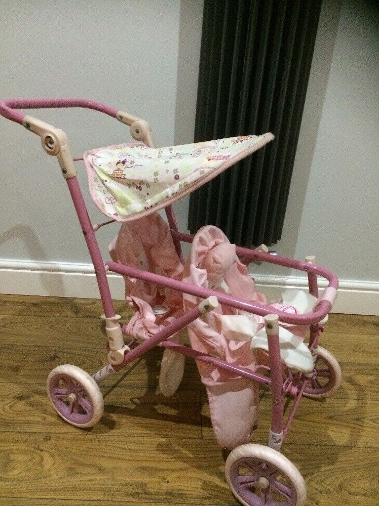 Baby Annabelle double buggie