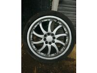 17 inch multi fit alloys £100 ono