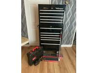 Toolbox and Tools - Snapon, Milwaukee, Blue Point Etc