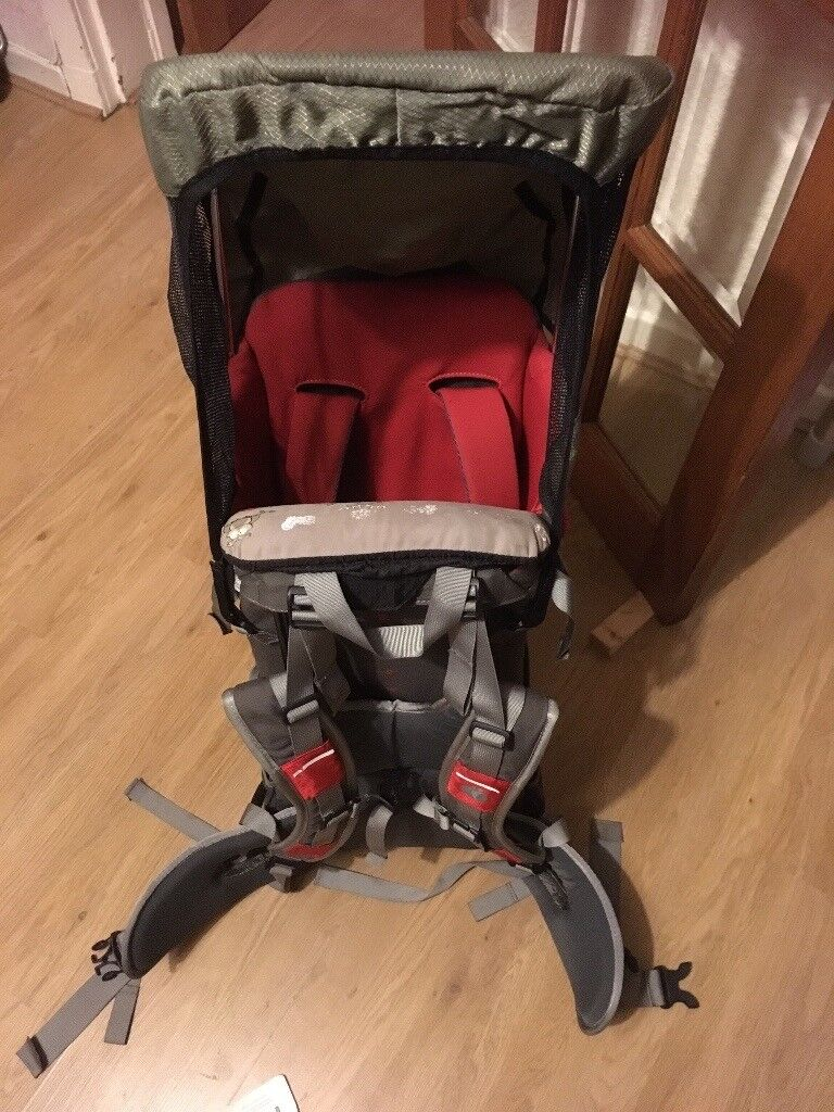 Littlelife S2 rucksack carrier with extras