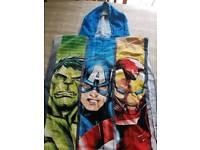 Marvel swim poncho