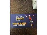 £50 Bungee jump voucher