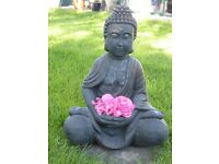 Buddha statue seated Height 52cms NEW