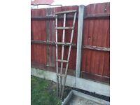 Plant climbing frame- handmade
