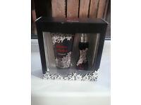 christina aguilera unforgettable 2pc giftset (15ml eau de parfum and beauty 50ml showergel)