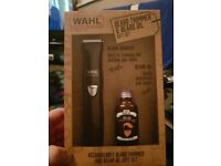 Wahl beard trimmer&beard oil