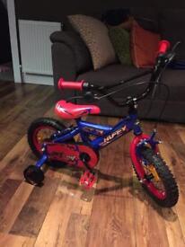 Boys bike with Stabilisers brand new