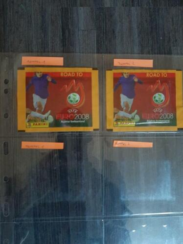 Panini Mc Donalds Happy Meal Road to Euro 2008