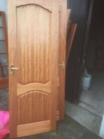 5 Mahogany internal doors