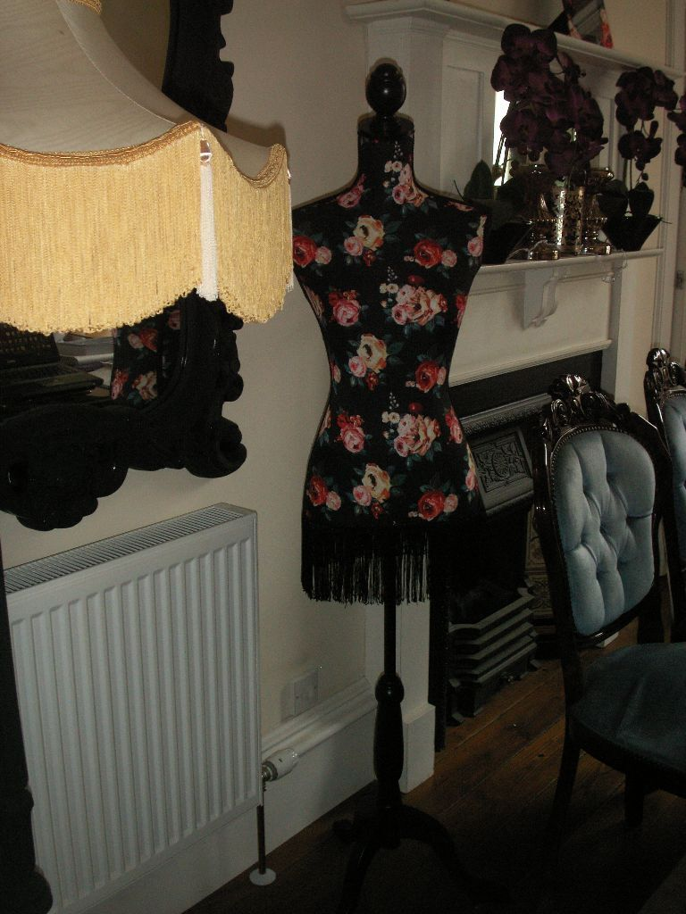 Dunelm Mill Kitchen Curtains Dunelm Mill Dark Arts Black Floral Mannequin Display Stand