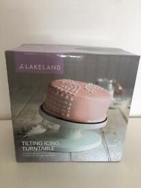Lakeland cake decorating turn plate