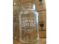 XMAS present idea? - COOL SOUTHERN COMFORT GLASSES 330ml (box of 6 - £15 )