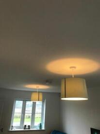 Duckegg Blue Lamp Shades