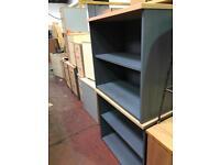 Grey One Shelve Bookcase