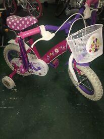 Girls Minnie Mouse bike 12 inch
