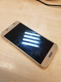 samsung galaxy s6 gold FOR PARTS only