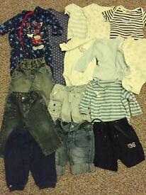 Baby boy clothing bundle, 6-9 months
