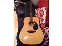 Fender F-03 early 80's Acoustic Guitar.