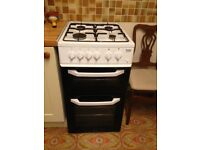 Beko Gas Oven, Grill and Hob.