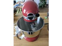 KitchenAid Artisan Empire Red Food Mixer: Brand New Condition