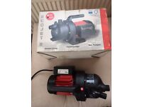 Garden Pump. Ecojet Leader E100 for ponds or pools unused boxed electric