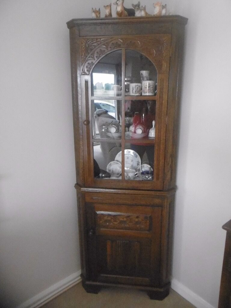 Vintage Corner Cabinet Vintage Corner Cabinet In Dark Wood 60 Ono In Lincoln