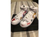 Supreme x Nike x NBA AF1 mid UK SIZE 12