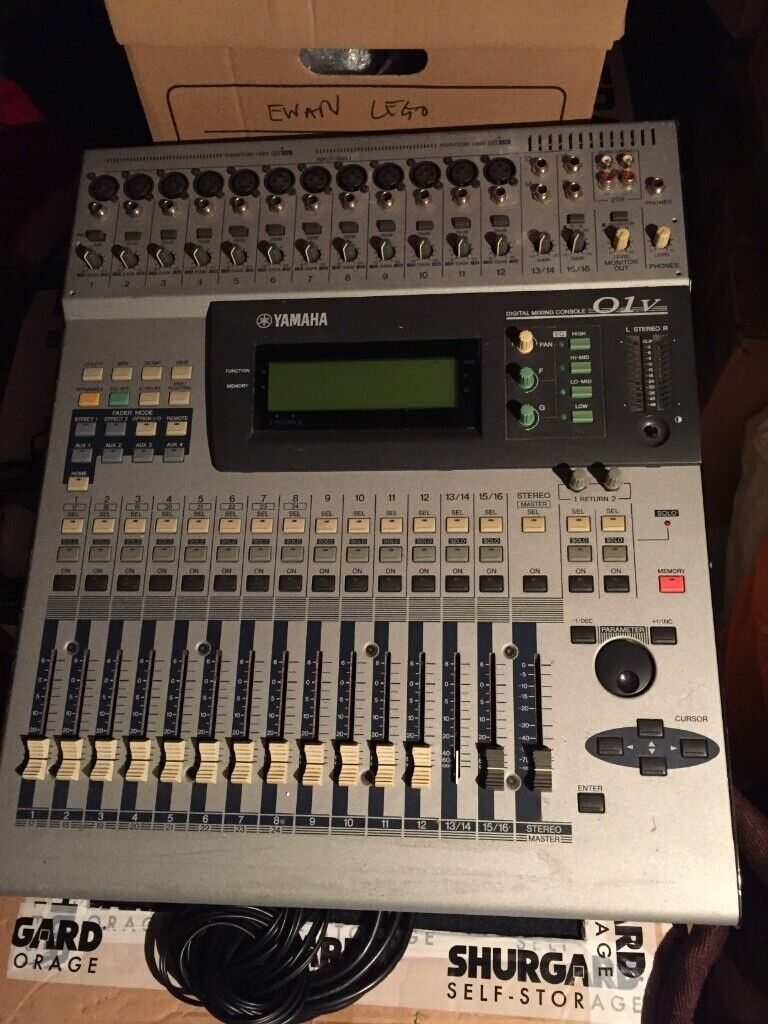 Yamaha 01v Digital Mixer (Behringer/ART/Flightase Warehouse/Gator) | in  Hazlemere, Buckinghamshire | Gumtree