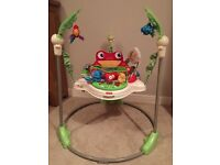 Fisher price jumperoo in box excellent condition
