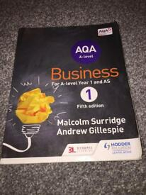 AS LEVEL BUSINESS STUDIES AQA