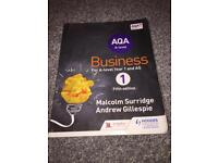 AS LEVEL BUSINESS STUDIES AQA, used for sale  Tyne and Wear