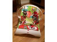 Baby bouncing chair by Fisher Price
