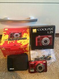 Coolpix L25 camera