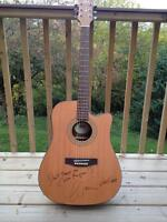 Alan Frew (Glass Tiger) Autographed Guitar