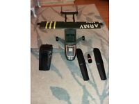 Action man plane vintage classic toy