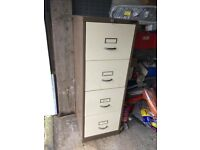 4 Drawer Filing Cabinet lockable