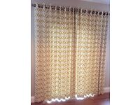 John Lewis patio door curtains (Scion fabric made to measure)